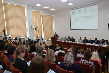 "The Round Table Discussion ""Civil Service in Ukraine: path of reforming """