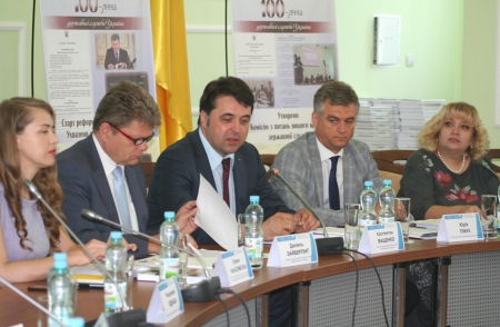 "The Round Table ""Civil Service in Ukraine and Positive Image Formation in the Context of European Integration"" was held"