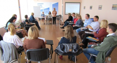 The Two-Day Training on the Implementation of the State Gender Policy for the Personnel of the Ministry of Interior of Ukraine